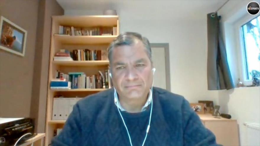 EXCLUSIVA: Correa revela intenciones detrás del golpe en su contra