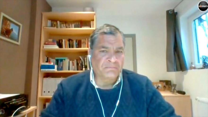Correa: Ecuador es el peor país a la hora de afrontar el COVID-19