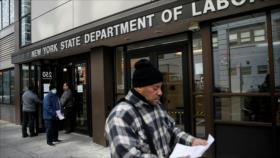 6,6 millones de personas en EEUU piden subsidio por desempleo