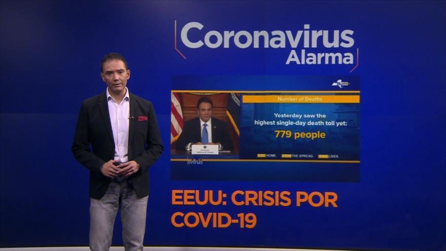 Coronavirus Alarma: Récord de muertos por coronavirus en Nueva York. Afroamericanos, afectados por COVID-19 por desigualdad sanitaria. OMS insta a no politizar el virus. Europa, golpeada por coronavirus