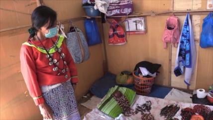 Comunidad indígena en Perú pasa hambre por aislamiento social