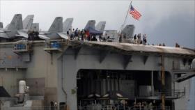 447 marines de EEUU dan positivo a COVID-19 en portaviones