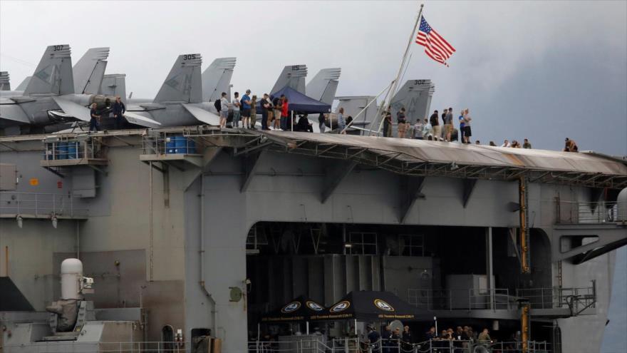 447 marines de EEUU dan positivo a COVID-19 en portaviones | HISPANTV