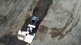 Nueva York abre una gran fosa común en isla de Hart por COVID-19