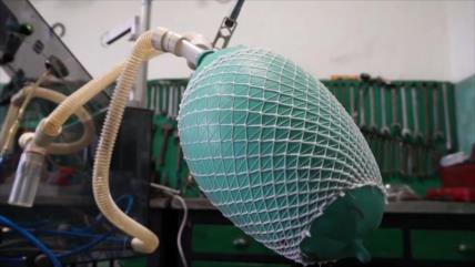 COVID-19 en Uruguay: Técnicos fabrican respirador artificial