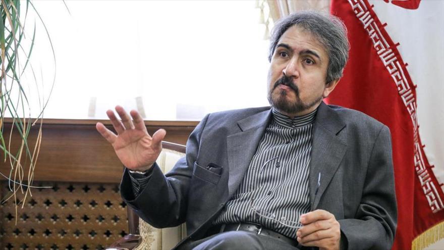 El embajador de Irán en Francia, Bahram Qasemi.