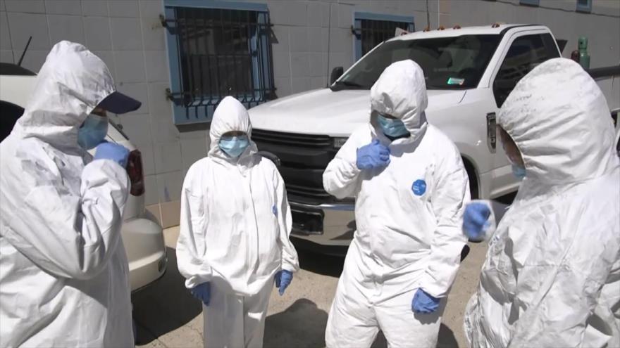EEUU sobrepasa el medio millón de casos por coronavirus