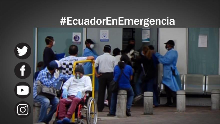 Etiquetaje: Crisis en Ecuador por el coronavirus y la mala gestión del Gobierno
