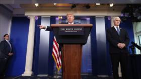 """Informe: Trump utiliza coronavirus como """"arma"""" contra otros países"""