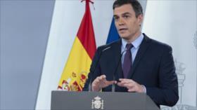 Sánchez lamenta: España, aún muy lejos de victoria ante COVID-19