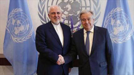 Zarif a Guterres: Crisis de Yemen no tiene una solución militar