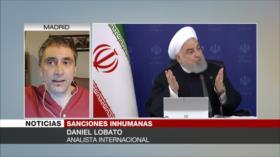 Lobato: Trump causa auto-aislamiento de EEUU con sanciones a Irán
