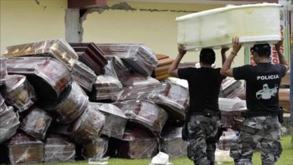 Retiran 800 cadáveres de la ciudad ecuatoriana de Guayaquil
