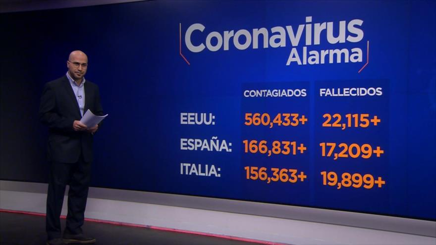 Coronavirus Alarma: Sanciones inhumanas. EEUU: Crisis por COVID-19. La vida primero. COVID-19 en Brasil. COVID-19; Letalidad reforzada