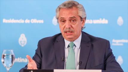 "Fernández admite que Argentina está ""lejos"" de vencer la pandemia"