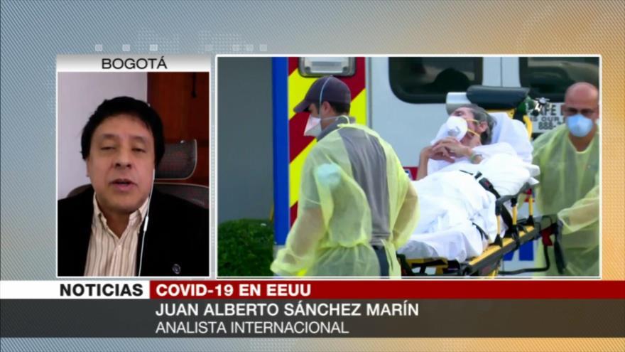 Marín: Minorías étnicas, las más afectadas por COVID-19 en EEUU   HISPANTV