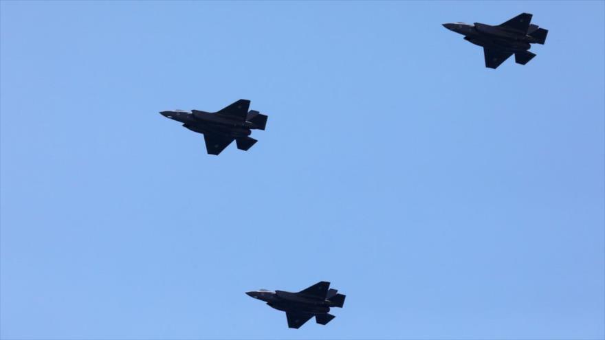 Aviones militares israelíes sobrevuelan Beirut y bases de Hezbolá   HISPANTV