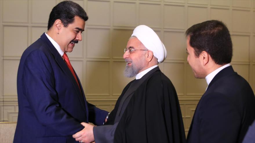 Rohani a Maduro: EEUU es un virus más peligroso que COVID-19