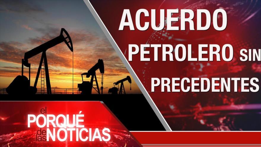 El Porqué de las Noticias: Sanciones de EEUU. Récord de producción petrolera. Demócratas contra Trump