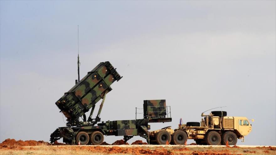 Una batería del sistema antimisiles Patriot, de fabricación estadounidense, desplegada en una base militar en Turquía.