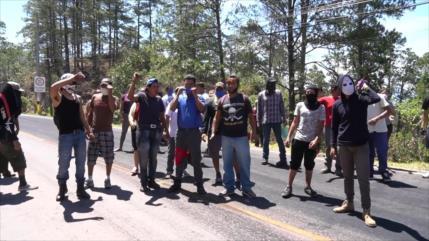 En Honduras continúan las protestas por falta de alimentos