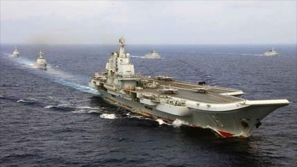 Ejército chino muestra alta preparación al desplegar portaviones