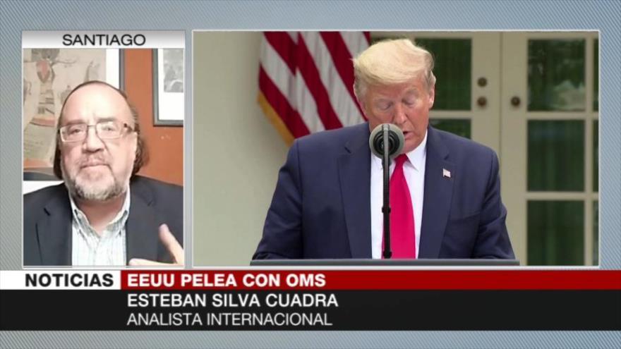 Silva Cuadra: Cortar fondos a OMS muestra chantaje político de EEUU   HISPANTV