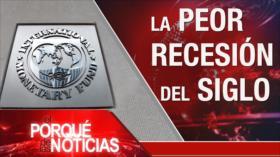 El Porqué de las Noticias: FMI prevé la recesión global. Economía de EEUU. Situación en Guayaquil