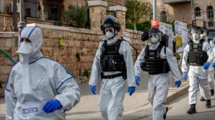 Policía israelí ataca clínica palestina de coronavirus en Al-Quds