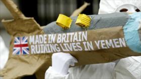 Firma británica vendió $19 mil millones en armas a Riad en 5 años