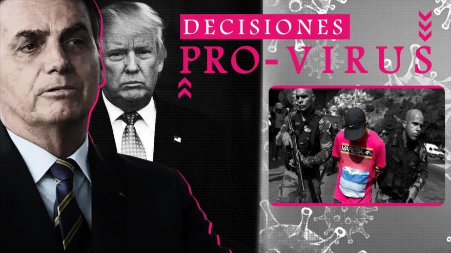 Detrás de la Razón: Los brasileños enfrentan la epidemia con un presidente que está contra la cuarentena