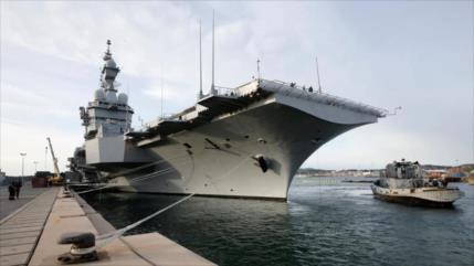 Más de 600 marineros de navío francés dan positivo en coronavirus