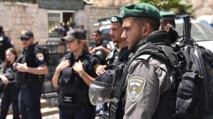 Policía israelí cierra clínica palestina de COVID-19 en Al-Quds