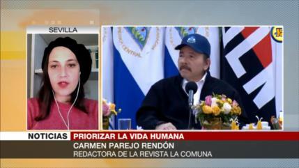 Parejo: Daniel Ortega sugiere un cambio mundial tras fin de COVID-19