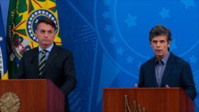 Vídeo: Cacerolazo contra Bolsonaro por despedir a ministro de Salud