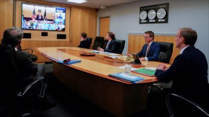 """Trump ve """"devastados"""" a líderes y economías de G-7 por COVID-19"""