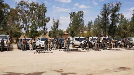 Vídeo: Grupo armado afín a EEUU se entrega al Ejército sirio