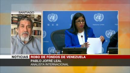 Jofré: EEUU recurre al chantaje para robar fondos de Venezuela