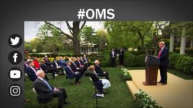 Etiquetaje: Trump golpea a la OMS; suspende fondos de EEUU a la organización