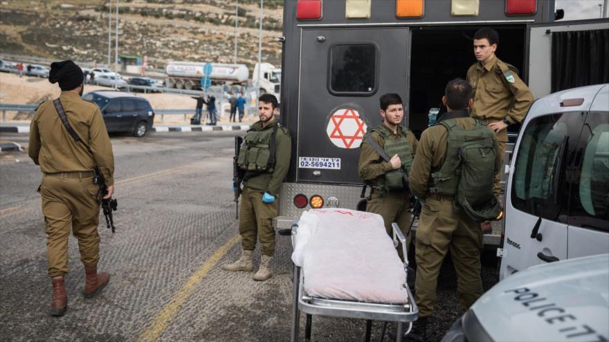 Soldados del ejército israelí en la ocupada Cisjordania.