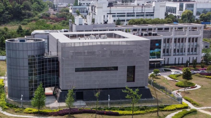 El Laboratorio P4 del Instituto de Virología de Wuhan, en la provincia central de Hubei, China, 17 de abril de 2020. (Foto: AFP)