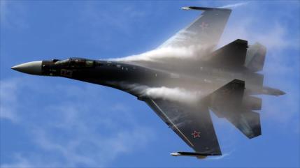Su-35 ruso voló a 7 m de distancia de avión de EEUU cerca de Siria