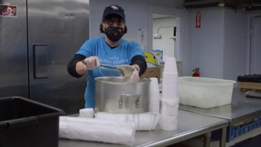 Crisis alimentaria en EEUU en medio de pandemia de coronavirus