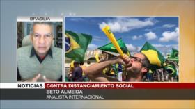 'Bolsonaro busca llevar a Brasil a un caos para sacar provecho'