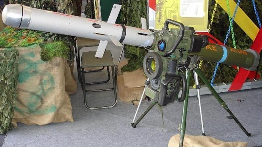 Informe: Irán reproduce misil israelí derribado en Siria