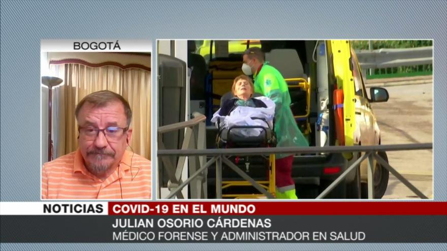 Osorio: Inacción del Gobierno español causa muertes por COVID-19