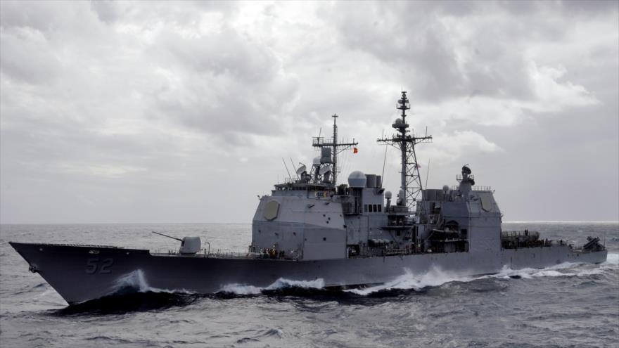 Naves de EEUU en mar del Sur de China en medio de tensiones | HISPANTV