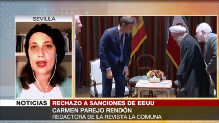 """Parejo Rendón: Gobiernos de España, """"sumisos"""" a la Casa Blanca"""
