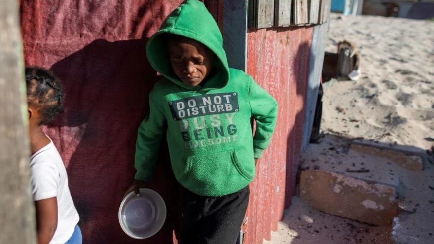 ONU: Parón económico mundial podría causar 'pandemia de hambre'