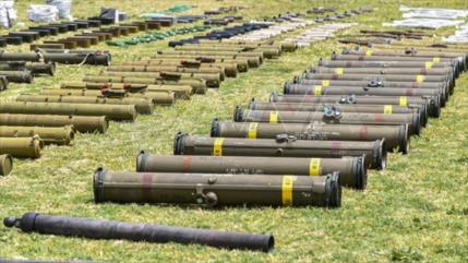 Siria incauta a terroristas armas de fabricación de EEUU